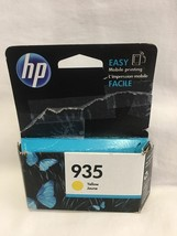 935 YELLOW jaune HP color ink jet printer OfficeJet 6812 6815 PRO 6835 6... - $14.81
