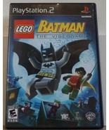 LEGO Batman: The Videogame (Sony PlayStation 2, 2008) - $9.89