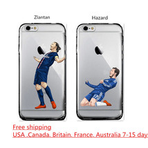 HOT Football Soccer Player 【Zlantan】【Hazard】 Hard Case For iphone 6/6s P... - $4.99