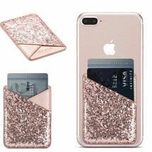 Card Holder Sticker For iPhone 11 Pro X XR XS Max 7 8 Plus Huawei P30 Pr... - $16.30