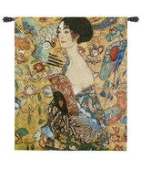 "Fine Art Tapestries ""Lady with Fan"" Wall Tapestry - $170.00"