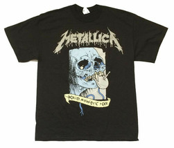 Metallica-Pushead-Soiree 2008-2009 Tour-2X Black  T-shirt - $22.24
