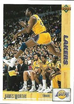 1991-92 Upper Deck-#146--James Worthy-Lakers-Forward - $3.96