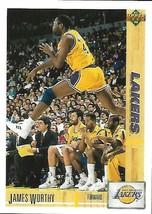 1991-92 Upper Deck-#146--James Worthy-Lakers-Forward - $3.96