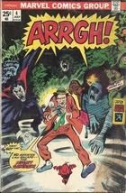 (CB-11) 1975 Marvel Comic Book: Arrgh! #4 { damaged cover } - $9.00