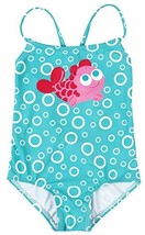 belamo Baby Girls Toddlers one Piece Swimwear Cross Back Bathing Suit 3-... - $18.41