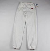 Vintage 80s New Adidas Mens XL Trefoil Logo Run DMC Joggers Jogger Pants... - $65.29