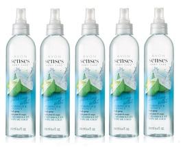 Avon Senses Sparkling Star Fruit & Coconut Body Spray x5 - $26.99
