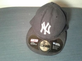 New York NY Yankees 7 3/8 Fitted Baseball Ball Hat Cap MLB (hb12) - $13.98