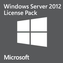 Microsoft Windows Server 2012 Remote Desktop Services RDS 50 User CAL - $49.99
