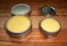 Your Manly Man Organic Aromatic Mustache Wax Extra Firm Hold .5oz Tin Carry Ever - $4.99