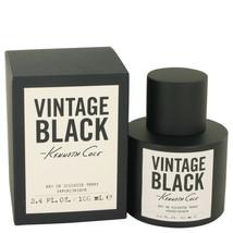 FGX-467891 Kenneth Cole Vintage Black Eau De Toilette Spray 3.4 Oz For Men  - $36.93
