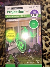 LED Lightshow Projection Whirl a Motion + Strobe - Halloween Green Witch... - £7.02 GBP