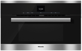 Miele H6670BM 30 Inch Pureline Design Speed Oven in Clean Touch Steel - $2,870.95