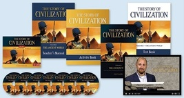 The story of civilization vol. 1   the ancient world  complete set  thumb200
