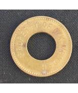O.K. Vender Token Coin Vtg - $7.86