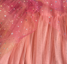 Rainbow Color Long Tulle Skirt Tiered Tutu Skirt Outfit Plus Size Layered Skirt  image 10