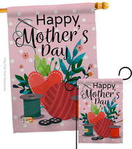 Happy Sweet Mother's Day - Impressions Decorative Flags Set S115136-BO - $57.97