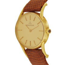 Jaeger LeCoultre Vintage Oval Watch in 18K Gold 4463 21 image 2