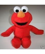 Sesame Street Muppets Plush Elmo 11.5 inches long Good Cond - $4.00