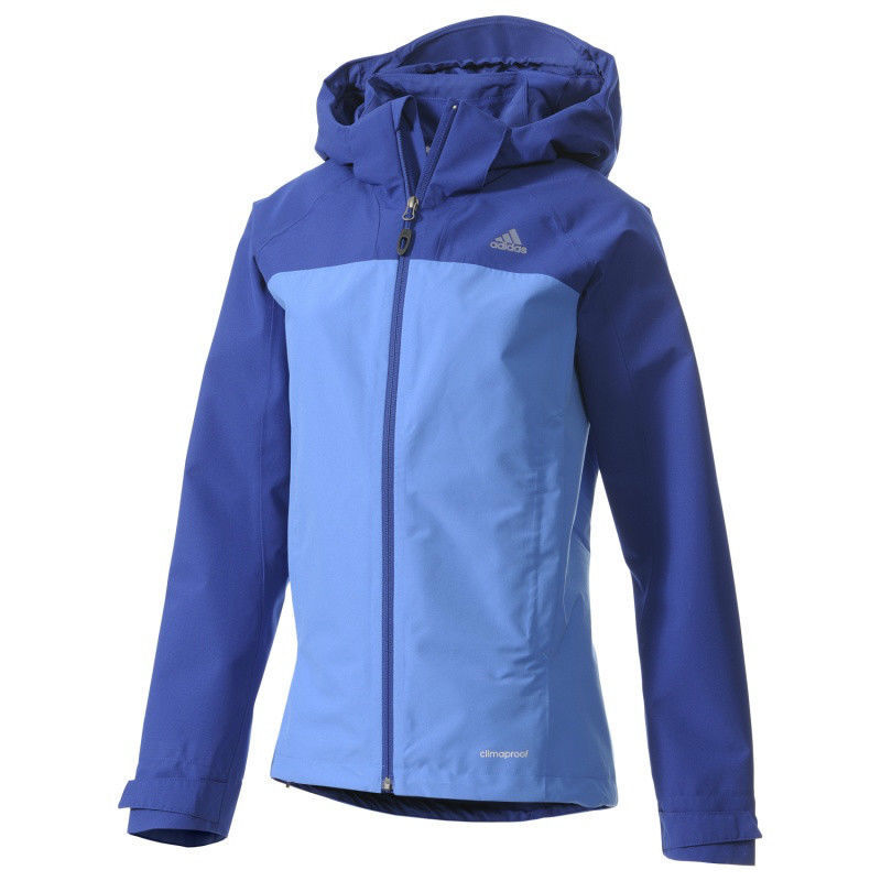 Primary image for Adidas Women's Hiking OUTDOOR WALDLIGHT JACKET COAT MEDIUM M MEDIUM MD BLUE