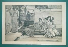 YOUNG LADIES Beauty Salon with Shrine of Venus - Victorian Era Print 14 ... - $31.05