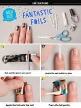 60 Colors Nail Art Tips Wraps Transfer Foil A* US SELLER * BUY2GET1FREE image 6