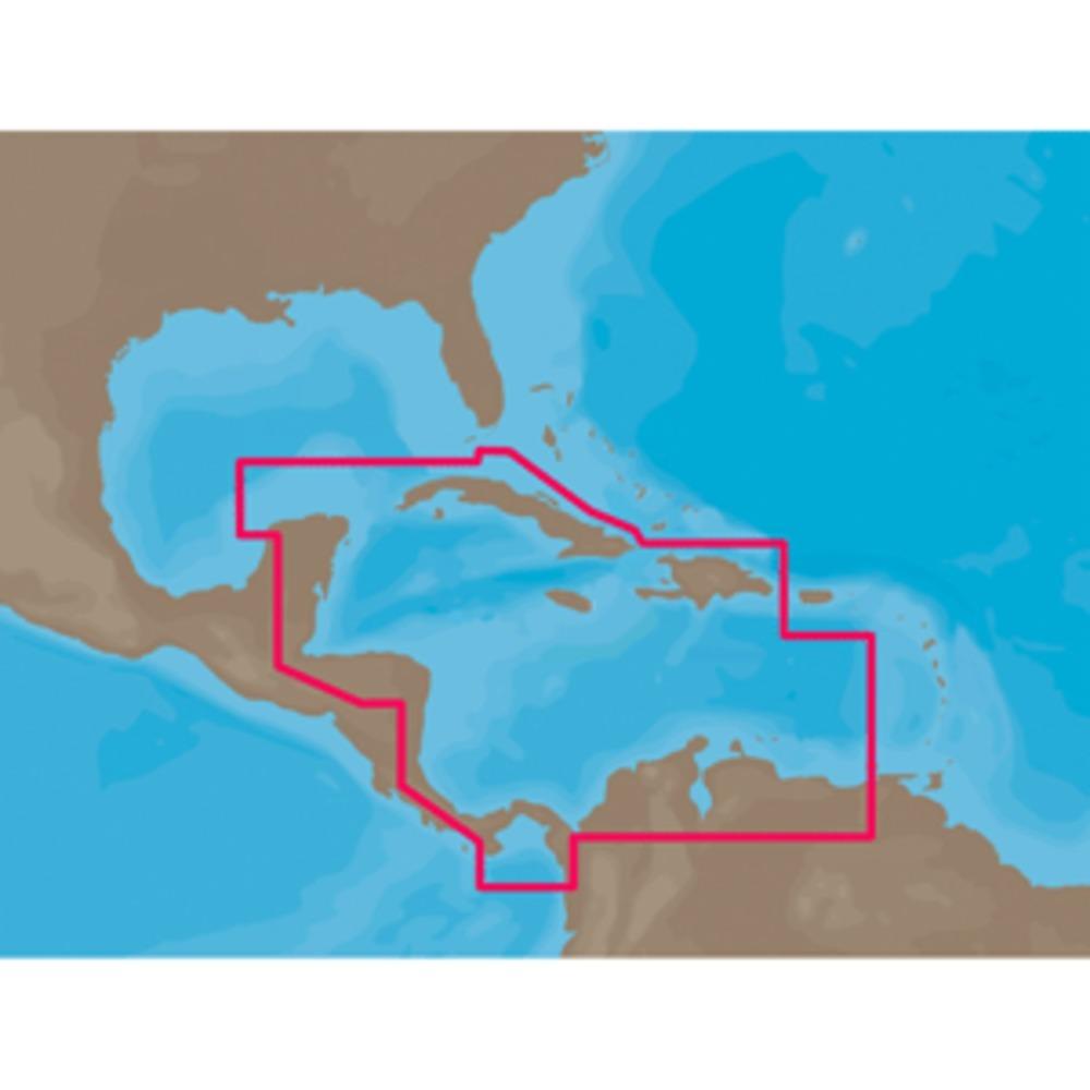 C-MAP NT+ NA-C502 - Western Caribbean Sea - C-Card