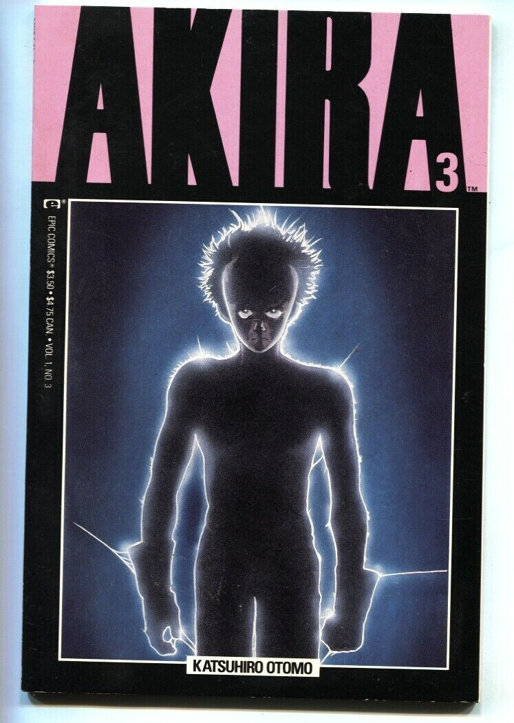 Akira #3 Katsuhiro Otomo- Epic / Marvel Manga Japanese 1988 - $22.70