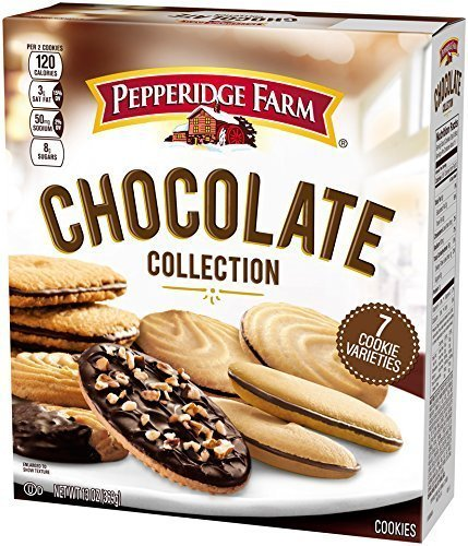 Primary image for Pepperidge Farm Cookie Collections Chocolate 9 Cup Cookies, 18 Count(Pack of 2 b