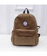 Bag Backpack Corduroy Women School Travel Rucksack Shoulder Girls Casual... - $23.99