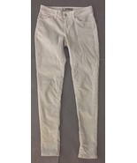 Levi's Light Gray Corduroy Legging 28 Skinny Cords Stretch Pants 2 4 - $19.79