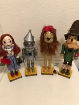 "Vintage The Wizard Of Oz Nutcracker Collection Kurt Adler 14.5"" Complete Set 4 - $142.49"