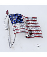 USA Flag Patriotic Brooch United We Stand - $12.95