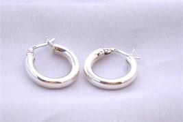 Stylish Gift Endless Wire Sterling Silver Hoop Earrings Weight 5.2 gms - $18.58