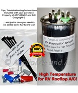 DuoTherm Dometic 3100248.420 Dual Capacitor 30+5 MFD RV Camper A/C +Inst... - $23.95