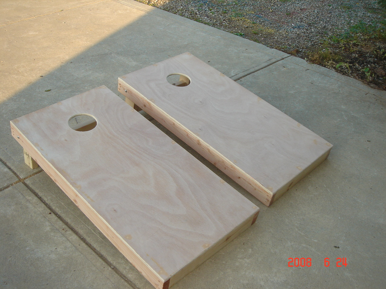 Primary image for Regulation Size, Sturdily built corn hole boards