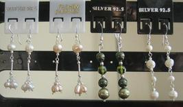 Swarovski Pearls Earrings in Sterling 92.5 Stamped - $8.20