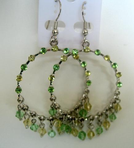 Primary image for Breathless Clear Crystals Chandelier Clip-On Earrings