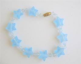 Girl Star Bracelet w/ Clear Simulated Crystals - $4.30