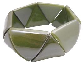 Bracelet Geomatric Bracelet Triangle Bead Stretchable Bracelet - $8.83