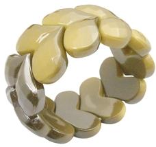 Fashion Affordable Summerish Yellow Stretchable Bracelet Fancy Wear - $8.83