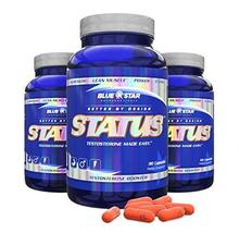 Blue Star Nutraceuticals Status Increase Healthy Testosterone (90 Capsul... - $143.54