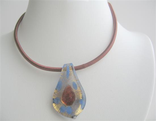 Primary image for Sexy Jewelry Leaf Pendant Glass Pendant Jewelry