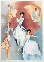 """Jane Bazinet """"Ballet Visions (2 of 2)"""" 1987 - S... - $150.00"""