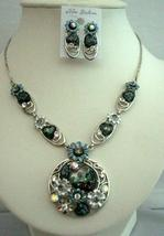 Necklace Set Dressed Up w/ Heart Shell & Enameled Painted Flower - $24.45