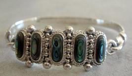 Sterling Silver 92.5 Stamped Celtic Knot Bangle Bracelet - $66.05