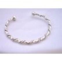 Sterling Silver Bangle Bracelet Ethnic Designed Silver Sterling 92.5 - $40.03