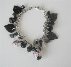 Black Beads Dangling Bracelet Gorgeous Sexy! Bracelet - $8.83