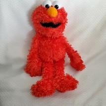 Seseme Street Elmo Puppet Fisher Price Mattel 16 inch Plush Stuffed Doll... - $19.79